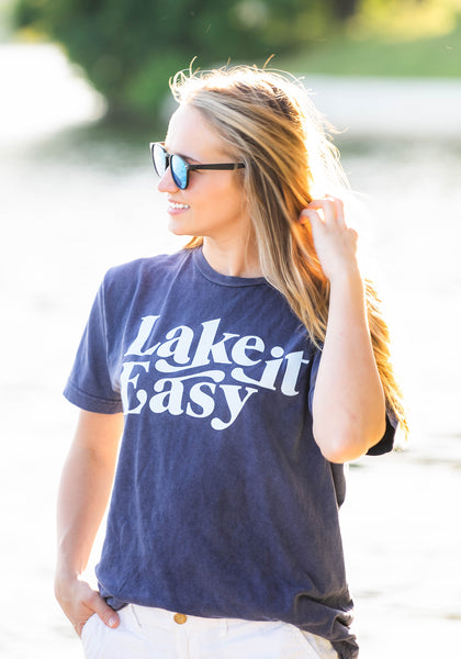 Lake It Easy Mineral Washed T-Shirt