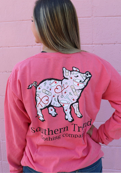 Nurse Pig Long Sleeve