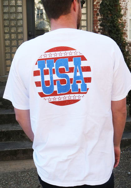 USA Stars Pocket T-Shirt