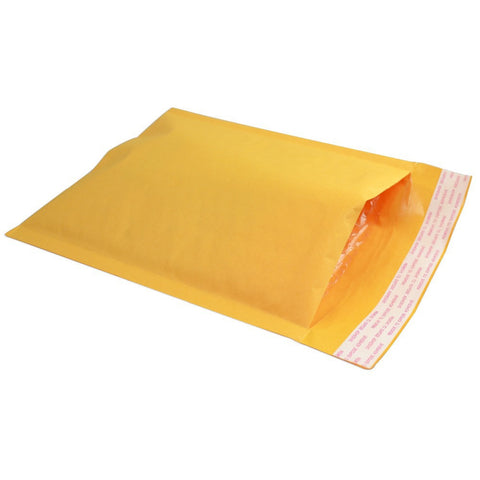 "Self-Seal Kraft Bubble Mailer #000 (4"" x 7"")  - Box of 500"