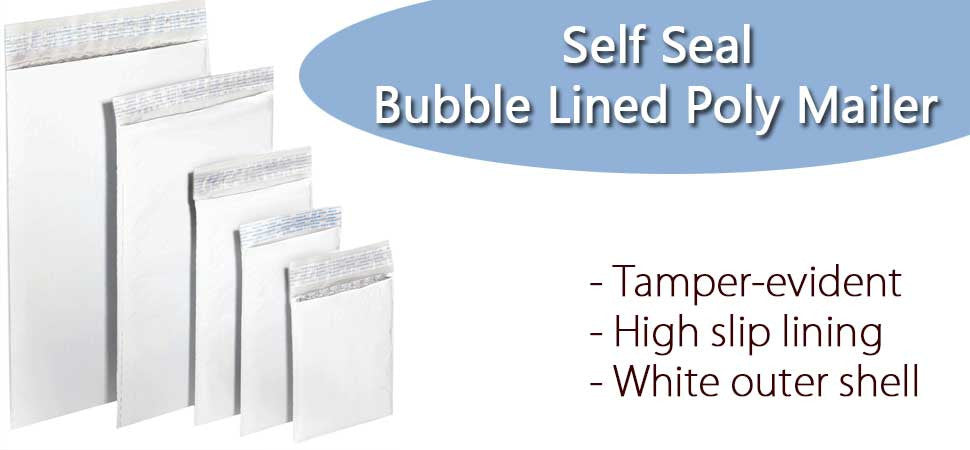 Self Seal Poly Bubble Mailers
