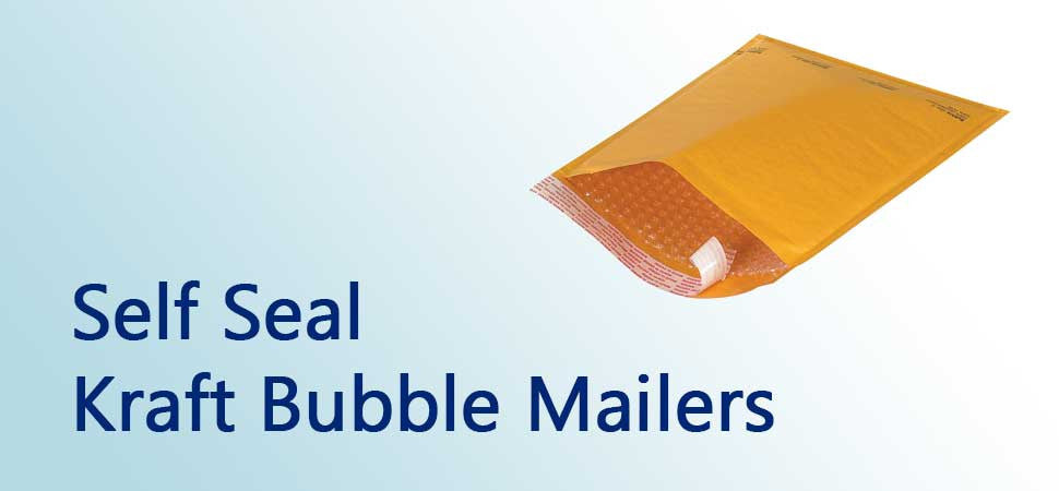 Self Seal Kraft Bubble Mailers
