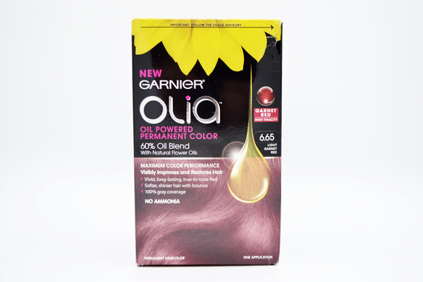 Garnier Olia Oil Powered Permanent Hair Color 6.65 and 5.35 (Multi Colors) (209 units, $3.00 each)