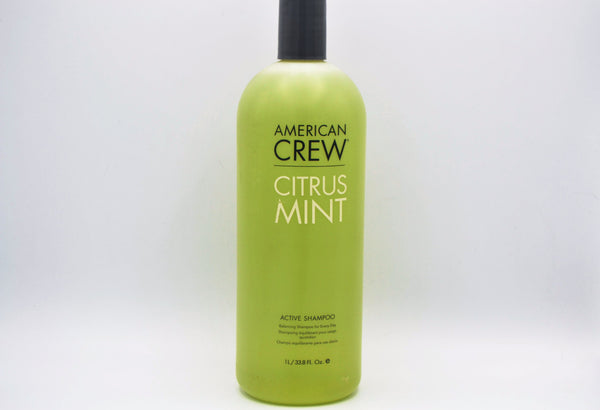 American Crew Citrus Mint Active Shampoo 1000 ml (45 units, $30.00 each)