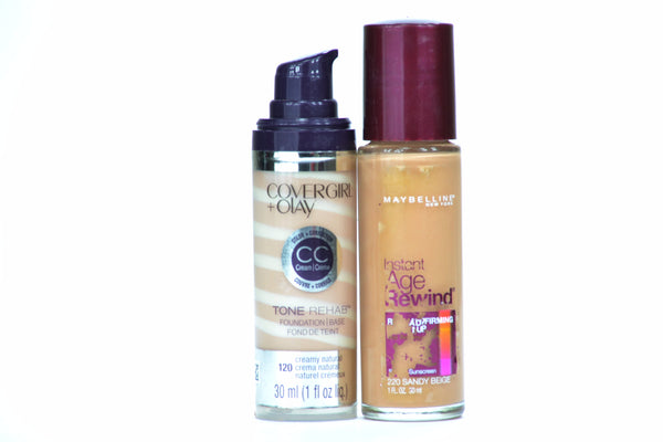 Maybelline Covergirl Foundation Mix (141 units, $3.00 each)