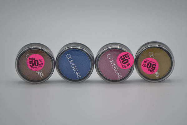 CoverGirl Flamed Out Eye Shadow Variety of Colors (8216 units, $.50 each)