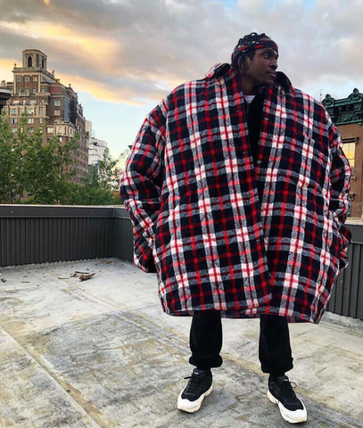 Pusha T Oversized Coat