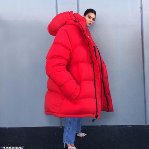 Kylie Jenner Oversized Coat