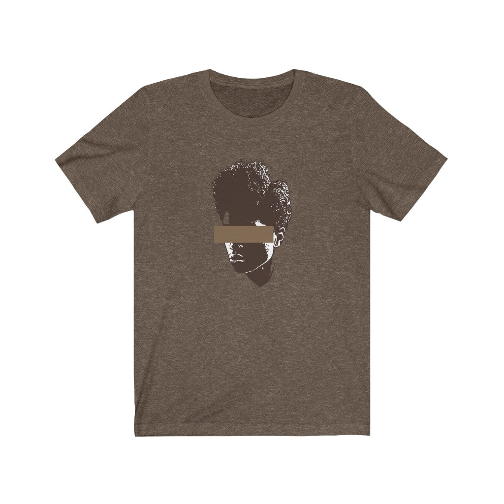 Brown Woman Unisex Jersey Short Sleeve Tee