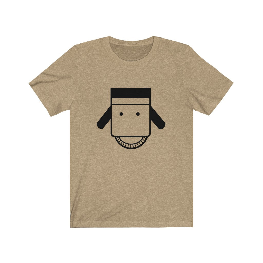 BACo Head Unisex Jersey Short Sleeve Tee - Black