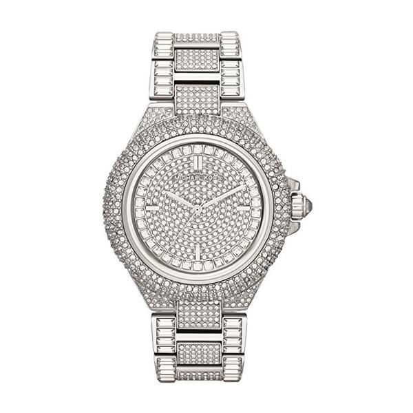 Brand New Michael Kors Camile Crystal Pave Dial Crystal Encrusted Ladies Watch MK5869