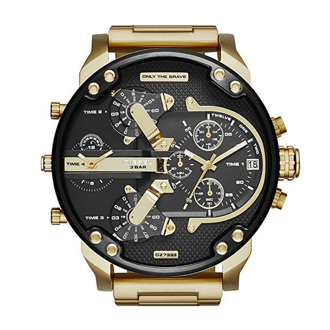 Diesel Watches Mr Daddy 2.0 Stainless Steel Watch DZ7333
