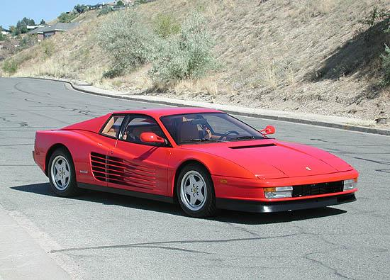 Electric Power Steering for Ferrari Testarossa