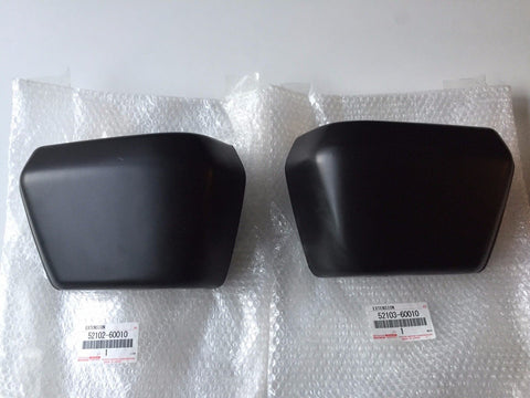OEM Front Bumper End Caps for Land Cruiser FJ60 - LH and RH