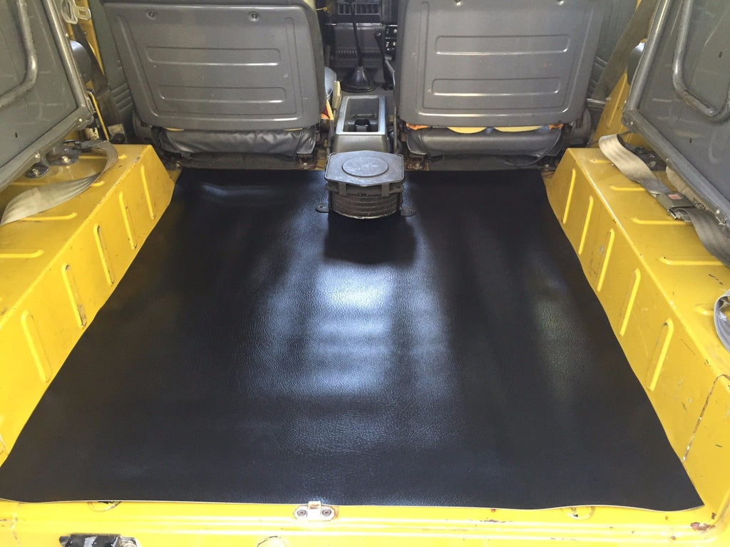 rear cargo floor mat for land cruiser fj43 fj45 troopy. Black Bedroom Furniture Sets. Home Design Ideas