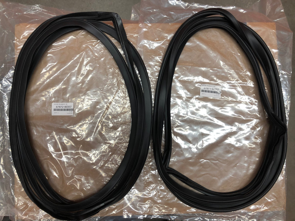 Rear Door Seal Weatherstrips for Land Cruiser FJ55