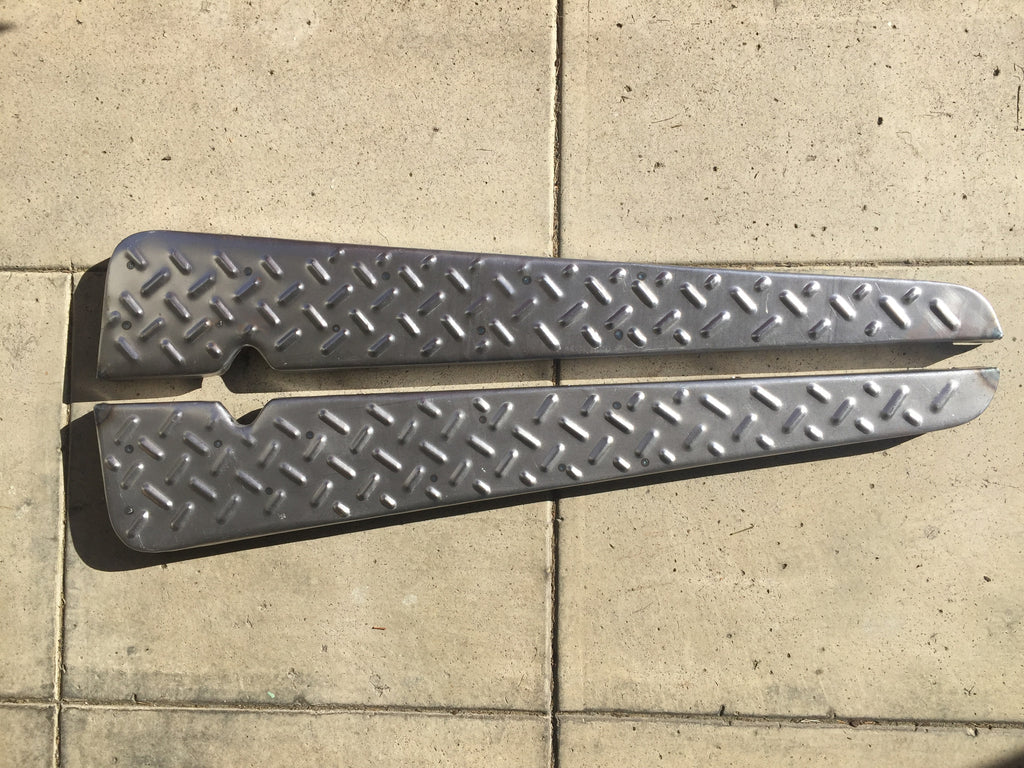 Running Boards for '79 to '84 Land Cruiser FJ40 - Set of 2