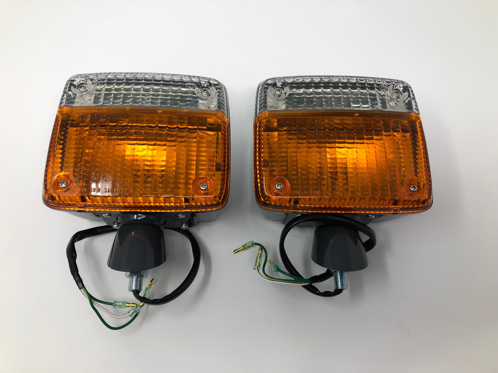 Oem Front Turn Signal Lights For  U0026 39 79 And Later Land