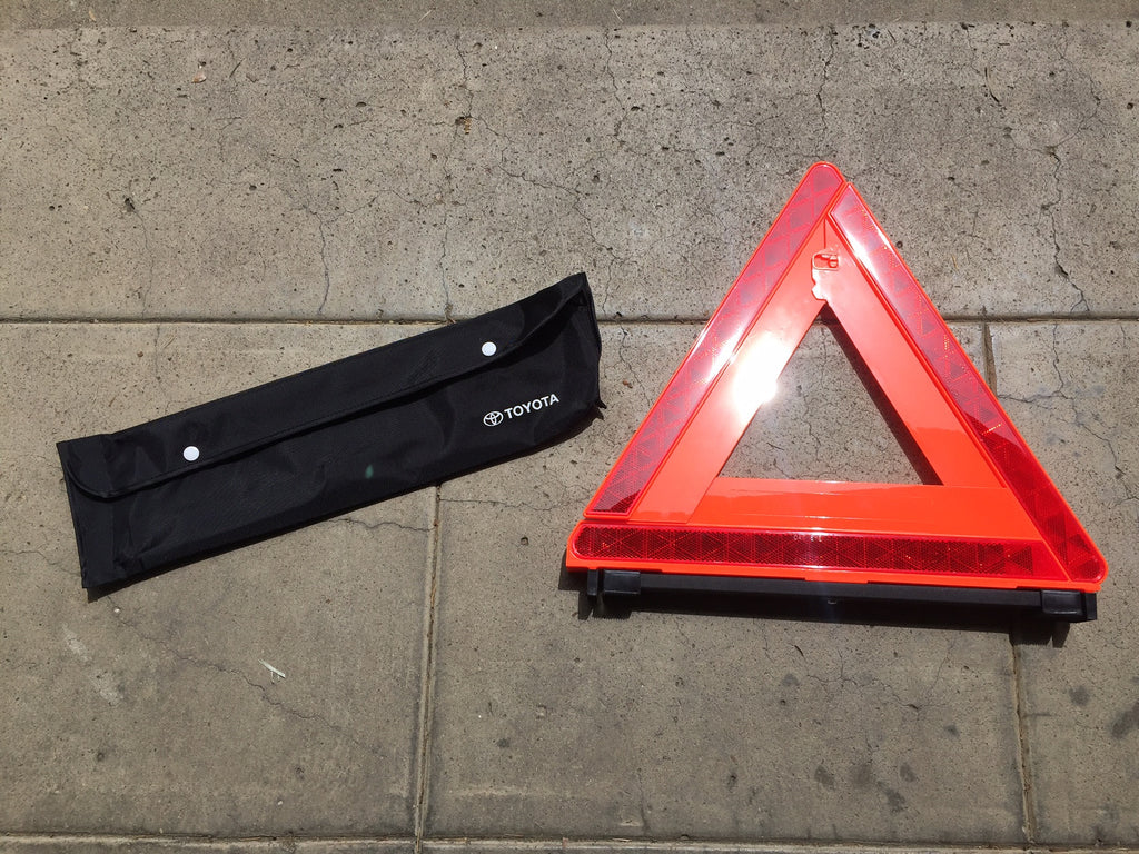 OEM Warning Reflector Triangle Tool for Land Cruiser FJ40 or Any Toyota