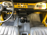 Front Moulded Floor Mat for '79 to '84 Land Cruiser FJ40