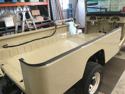 Hardtop to tub weatherstrip and packing for /'73 to /'84 Land Cruiser FJ40