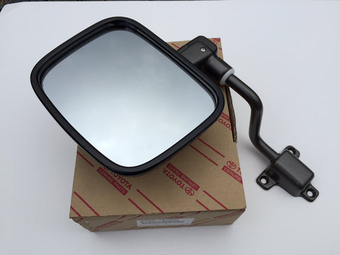 OEM Euro Spec Land Cruiser FJ40 Mirrors with Arms - Set of 2