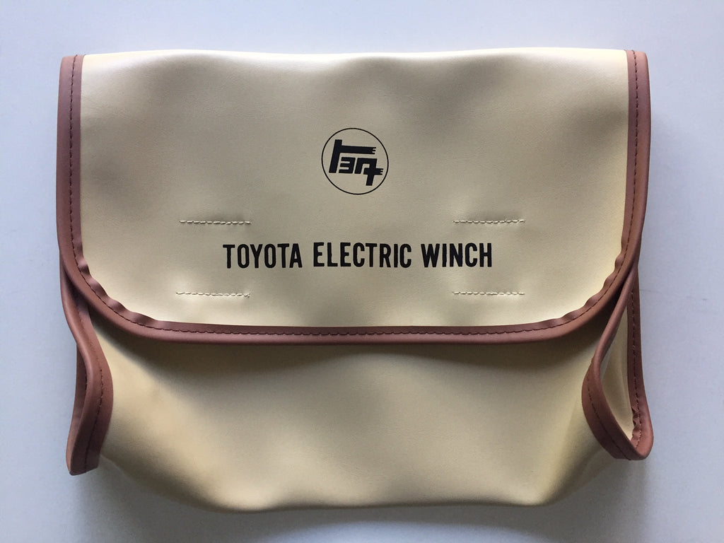 OEM TEQ Electric Winch Remote Control Bag for Land Cruiser FJ40 FJ60 4Runner Pick-up