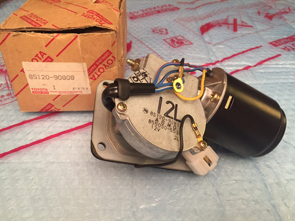OEM Wiper Motor with Intermittent Function for '81 to '84 Land Cruiser FJ40 (NOS)