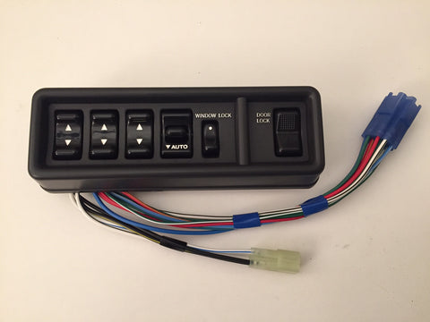 OEM Power Window Master Switch for Land Cruiser FJ62 - Grey
