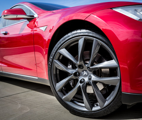 Gloss Black Lug Nut Cover for Tesla Model S 3