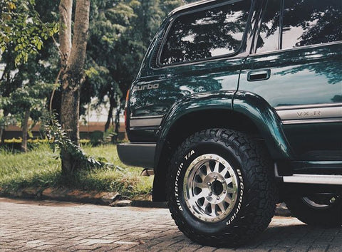 Method Race Wheels for Land Cruiser FJ80 FZJ80