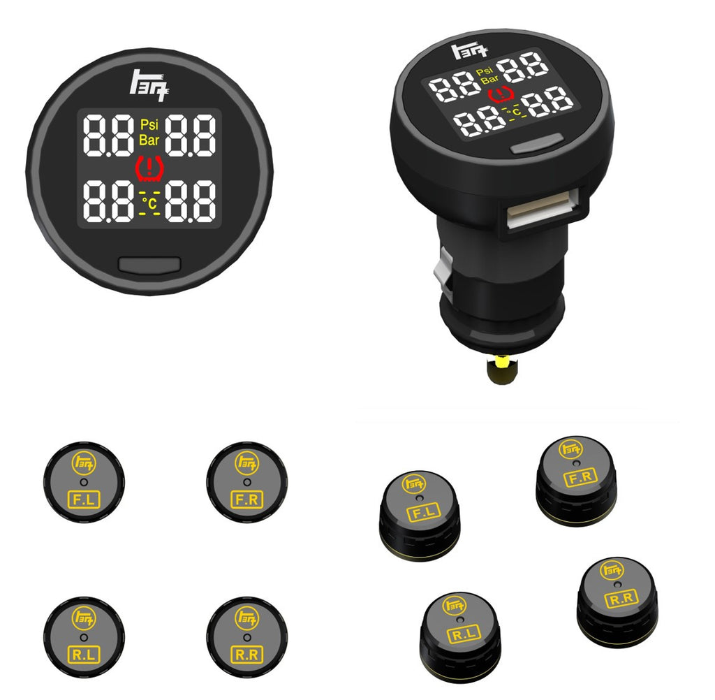 Tire Pressure Monitoring System (TPMS) for Any Toyota