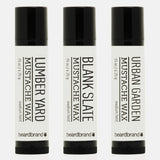 White Line Mustache Wax 3 Pack