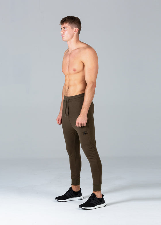 Fitted Joggers (Khaki)