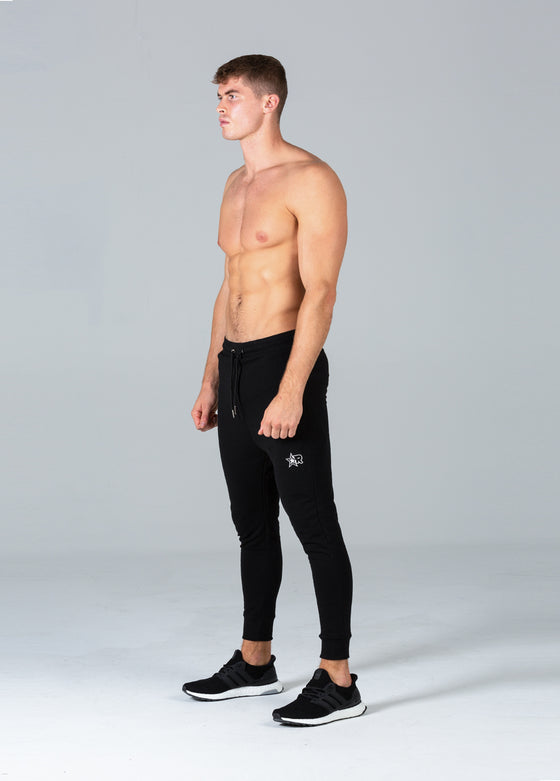 Fitted Joggers (Black)