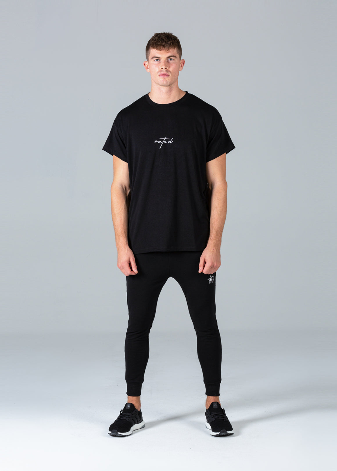 Rated Script T-Shirt (Black)