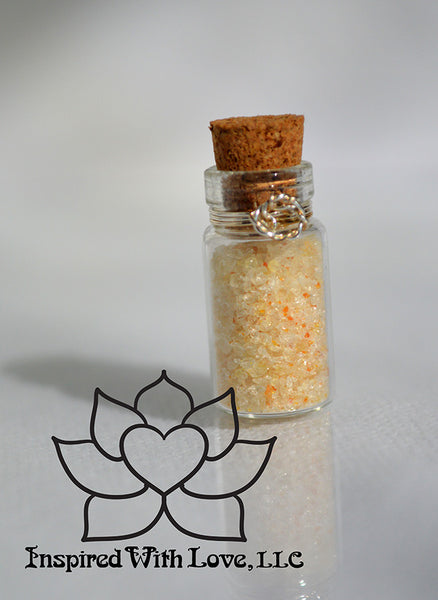 Amber Crystal Faery Dust, Fairy Dust