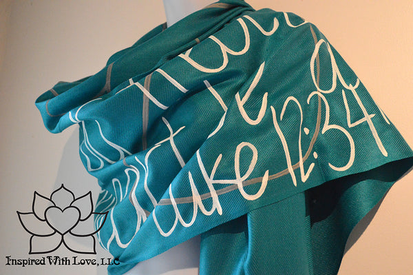 Custom Luke 12:34 Family for where your treasure is shawl - Inspired With Love