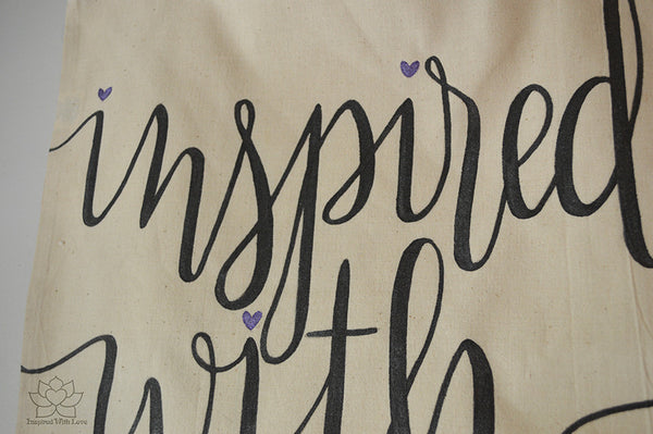 Inspired With Love Tote Bag