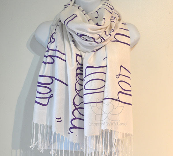 Custom Proverbs 31:28 Her children arise up and called her blessed shawl - Inspired With Love