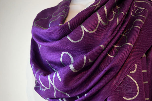 Custom Proverbs 31:25 She is clothed with strength and dignity shawl - Inspired With Love