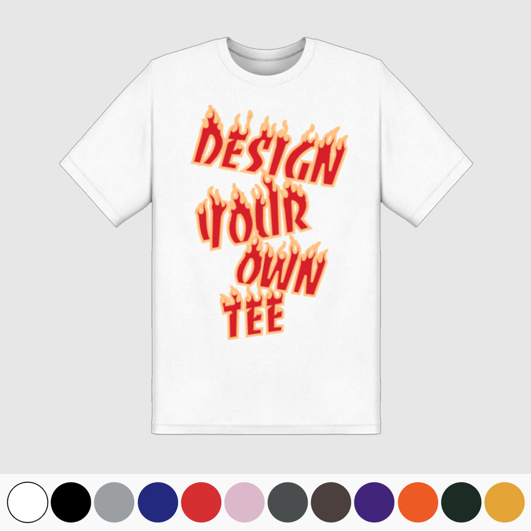 Create Your Own Tee - Personalized T-Shirts (blank)