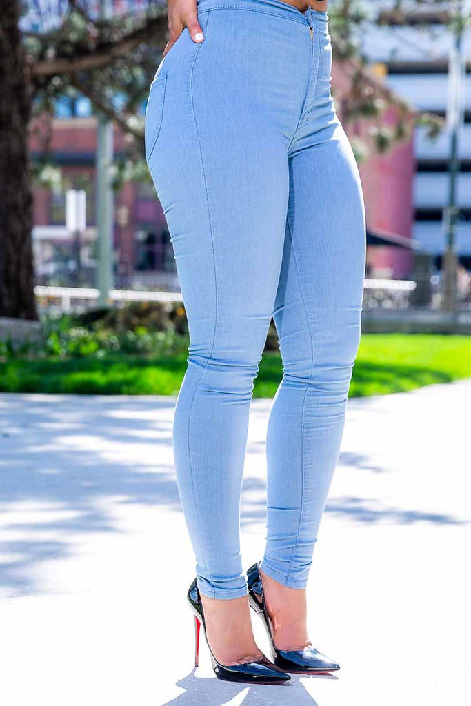 Show Off High Rise Jeans - Swank A Posh