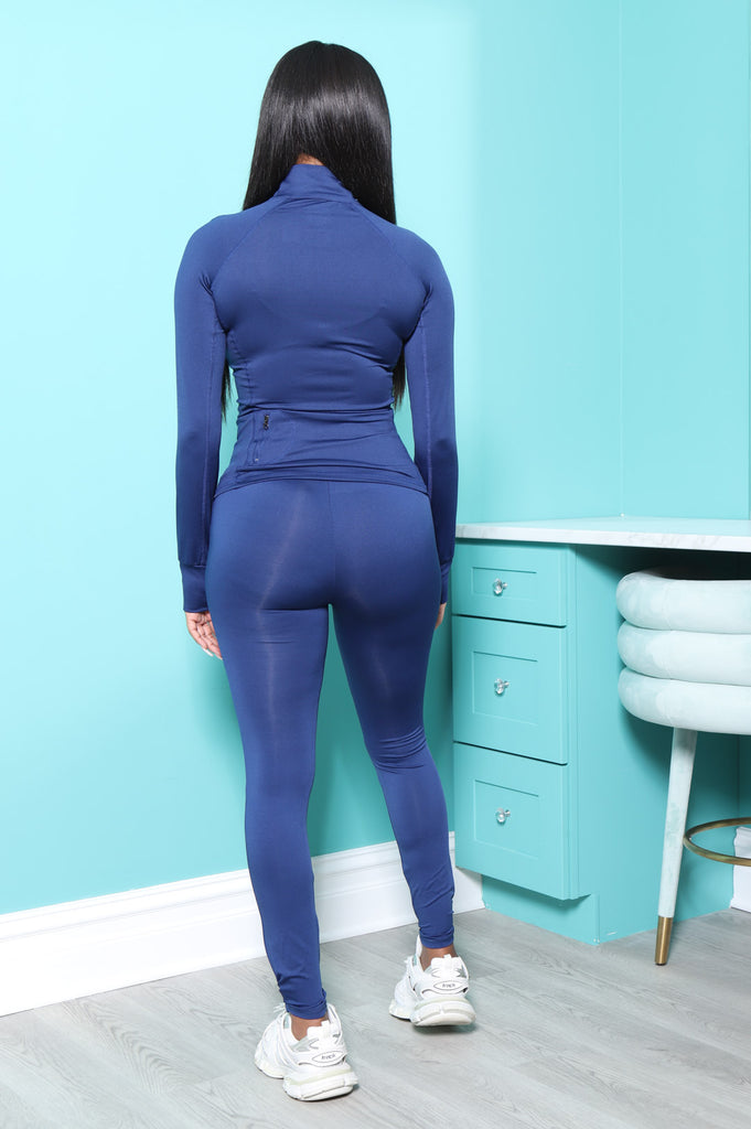 Easy Fit Athletic Set - Cobalt - Swank A Posh