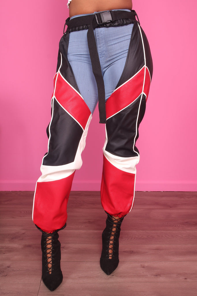 Bad Motor Faux Leather Chaps - Swank A Posh
