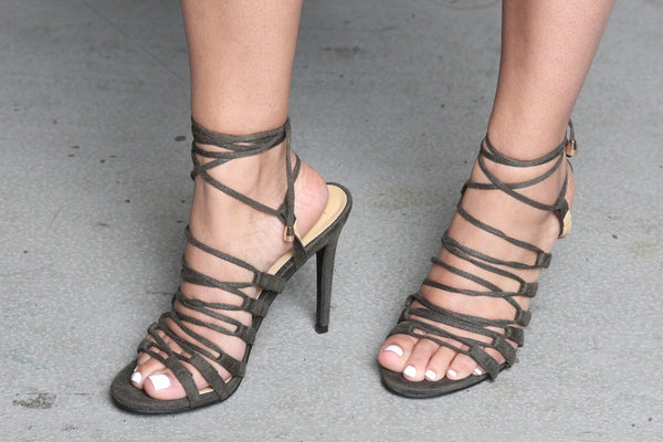 Olive Too Lace Up Sandals