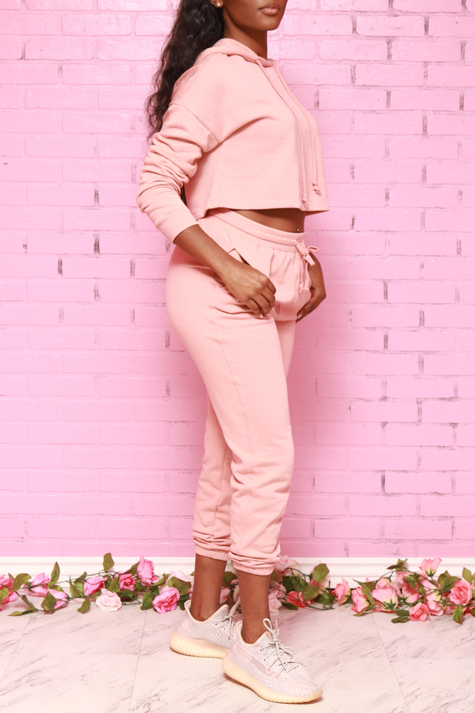 Just In Time Jogger Set - Mauve - Swank A Posh