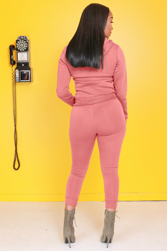 Like That Jogger Set - Mauve - Swank A Posh