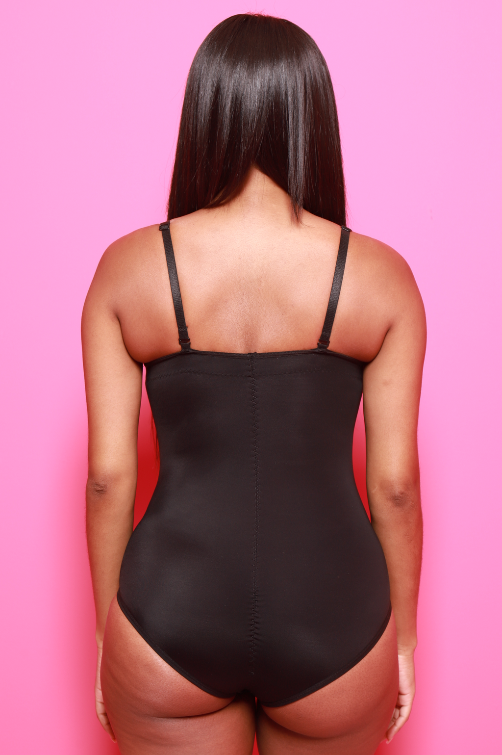 Doctored Form Shape Wear Bodysuit - Black - Swank A Posh