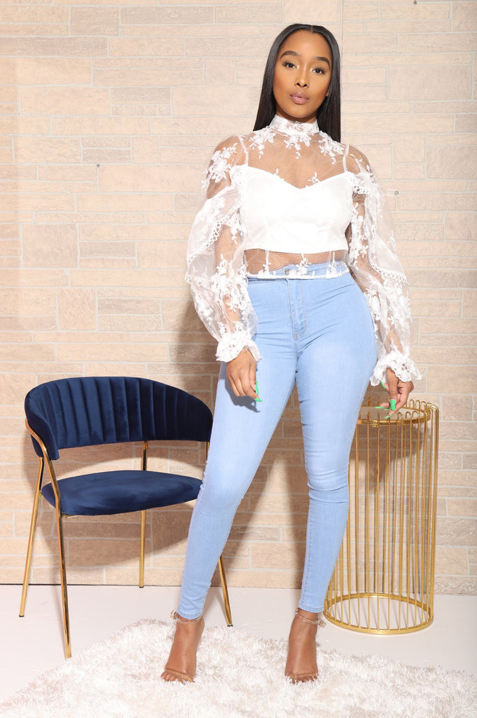 Light Blue Mega Stretch Jeans - Swank A Posh